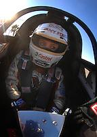 "Jan 20, 2007; Las Vegas, NV, USA; NHRA Super Comp driver Brittany Force during preseason testing at ""The Strip"" at Las Vegas Motor Speedway in Las Vegas, NV. Mandatory Credit: Mark J. Rebilas"