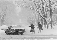 1972 11 WEA - Tempête de neige