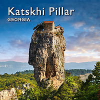 Pictures & Images of Katskhi Pillar Georgian Orthodox church, Georgia (country) -