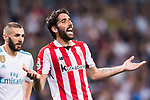 Raul Garcia Escudero of Athletic Club de Bilbao reacts during the La Liga 2017-18 match between Real Madrid and Athletic Club Bilbao at Estadio Santiago Bernabeu on April 18 2018 in Madrid, Spain. Photo by Diego Souto / Power Sport Images