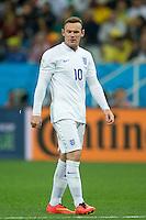 Wayne Rooney of England looks dejected