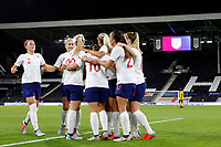 GOAL - Fran Kirby of England Women opens the scoring during the Women's international friendly match between England Women and Australia at Craven Cottage, London, England on 9 October 2018. Photo by Carlton Myrie / PRiME Media Images.