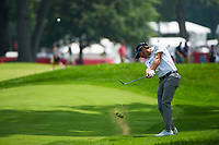 4th July 2021, Detroit, MI, USA;  Kevin Kisner (USA) hits his approachy shot on 1 during the Rocket Mortgage Classic Rd4 at Detroit Golf Club on July 4,