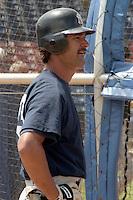 New York Yankees Don Mattingly during spring training circa 1989 at Holman Stadium in Vero Beach, Florida.  (MJA/Four Seam Images)