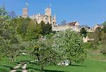 Germany, Baden-Wuerttemberg, Markgraefler Land, Loerrach, castle ruin Roetteln | Deutschland, Baden-Wuerttemberg, Markgraefler Land, Loerrach, Burgruine Roetteln