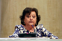 Simonetta Matone, candidate vice mayor of Rome, during the presentation of the candidates at the next elections for the mayor of Rome for the center-right coalition.<br /> Rome (Italy), June 11th 2021<br /> Photo Samantha Zucchi Insidefoto