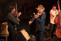 Nice le 27 Fevrier 2017 Opera de Nice Concert de Dider Lockwood Trio Francois Arnaud Violon Didier Lockwood Violon