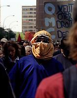 OMC<br /> <br /> demonstration circa 2003<br /> <br /> FILE PHOTO : Agence quebec Presse