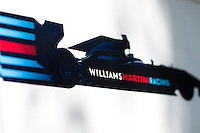 March 14, 2015: Williams team signage at the 2015 Australian Formula One Grand Prix at Albert Park, Melbourne, Australia. Photo Sydney Low