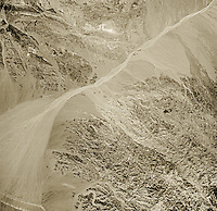 historical aerial photograph of the area east of Salton Sea, Imperial County, California, 1947