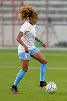 Chicago, IL - Saturday Sept. 24, 2016: Casey Short prior to a regular season National Women's Soccer League (NWSL) match between the Chicago Red Stars and the Washington Spirit at Toyota Park.