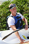 James Feathery, Open Men's champion. 2012 SI Surf Ski Championships: Tahunanui to Cable Bay.<br /> Photo: Marc Palmano/Shuttersport