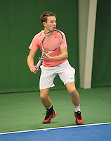01-12-13,Netherlands, Almere,  National Tennis Center, Tennis, Winter Youth Circuit, Siem Fenne  <br /> Photo: Henk Koster