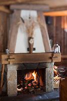 Europe/France/Rhône-Alpes/74/Haute Savoie/Morzine: Restaurant: Le Chalet  Philibert- La salle du restaurant