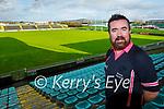 Seamus Mulvihill who will referee the LGFA's Intermediate Ladies football final