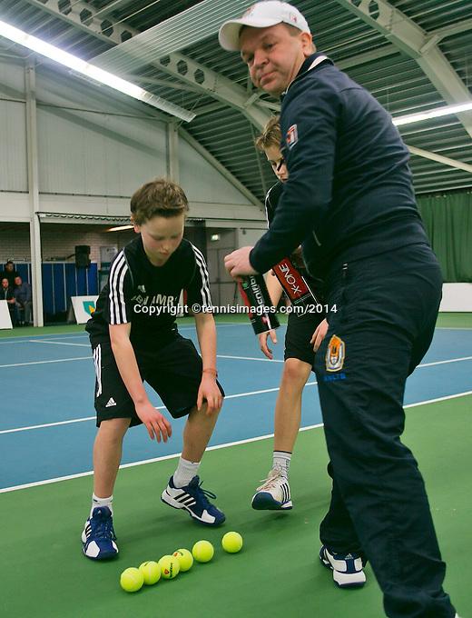 19-01-14,Netherlands, Rotterdam,  TC Victoria, Wildcard Tournament, ,   Final,  ballchange<br /> Photo: Henk Koster