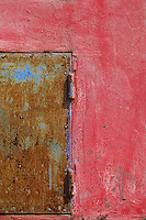 Battambang monasteries their wall colors and design, Cambodia.