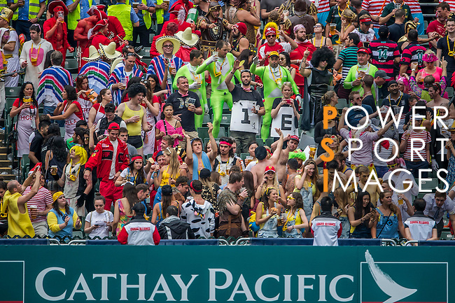 Entretainment event during the Cathay Pacific / HSBC Hong Kong Sevens at the Hong Kong Stadium on 29 March 2014 in Hong Kong, China. Photo by Victor Fraile / Power Sport Images