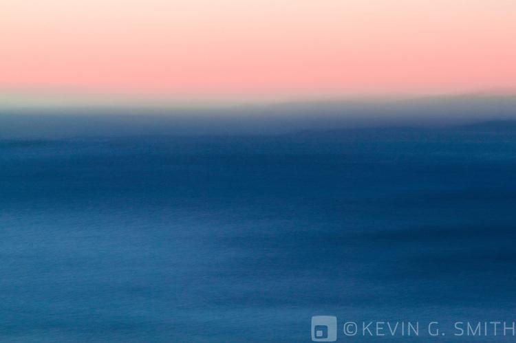 Sea and sky abstract, Kodiak Alaska.USA.