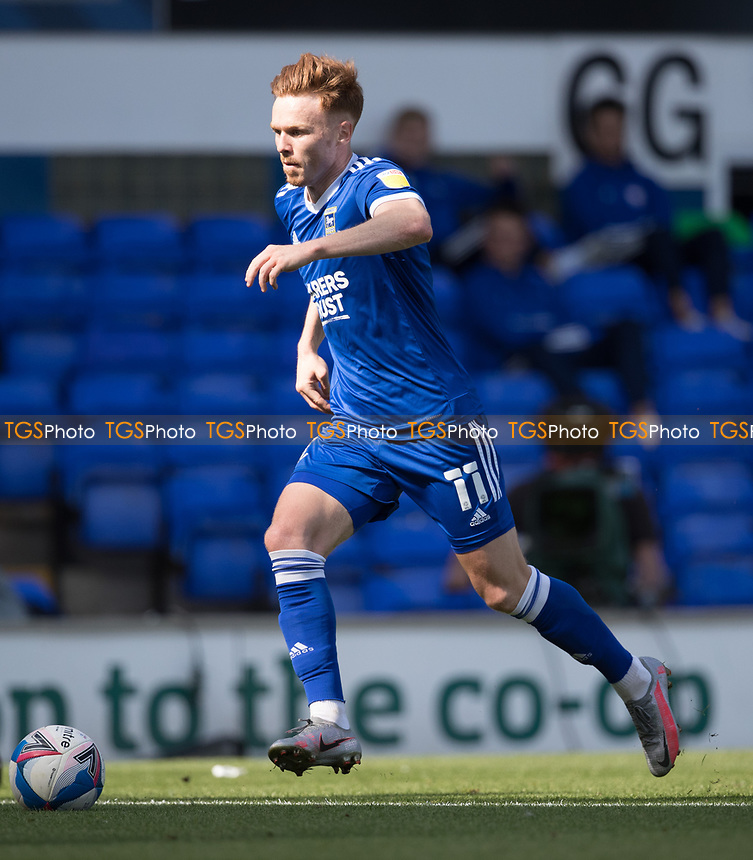 Jon Nolan of Ipswich Town in action during Ipswich Town vs Wigan Athletic, Sky Bet EFL League 1 Football at Portman Road on 13th September 2020