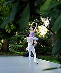Tom Gold Dance Company in the summer garden at the Rockefeller Estate, Kykuit, in Pocantico Hills.