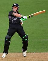 080209 International ODI Cricket - NZ Black Caps v England