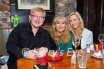 Enjoying Molly J's on Saturday, l to r: Daniel, Maureen and Chloe Moriarty