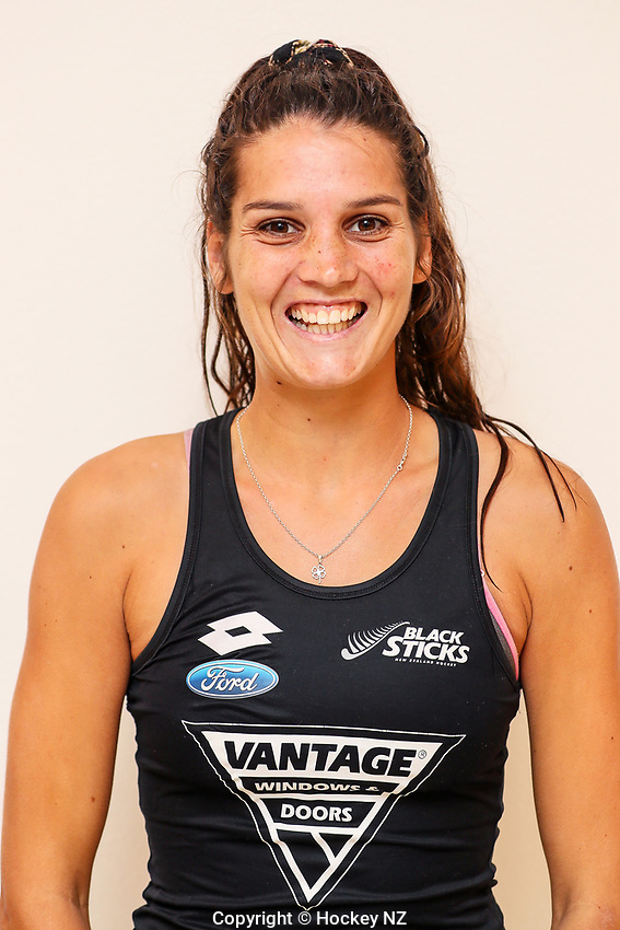 Vantage Blacksticks Women's Headshots, Christchurch, New Zealand. Saturday 16th February 2019. Photo: Simon Watts/Hockey NZ