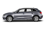 Car Driver side profile view of a 2015 Audi A3 Ambiente 5 Door Hatchback 2WD Side View