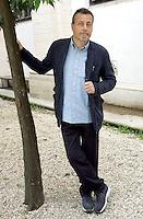 La scrittore Massimo Carlotto ritratto in occasione del Festival Internazionale delle Letterature a Roma, 28 maggio 2008..Italian writer Massimo Carlotto portrayed in occasion of the International Literature Festival in Rome, 28 may 2008..UPDATE IMAGES PRESS/Riccardo De Luca