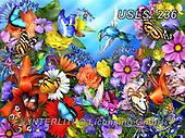 Lori, FLOWERS, BLUMEN, FLORES, paintings+++++Lori's Garden_3_2016_72,USLS236,#f#, EVERYDAY ,puzzle,puzzles