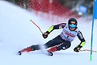 20th December 2020; Alta Badia, South-Tyrol, Italy; International Ski Federation World Cup Alpine Skiing, Giant Slalom; Filip Zubcic (CRO)