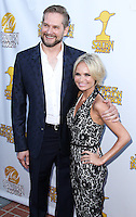 BURBANK, CA, USA - JUNE 26: Bryan Fuller and Kristin Chenoweth arrive at the 40th Annual Saturn Awards held at The Castaway on June 26, 2014 in Burbank, California, United States. (Photo by Xavier Collin/Celebrity Monitor)