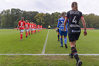 Players pictured during a female soccer game between Standard Femina de Liege and Dames SV Zulte Waregem on the fifth matchday of the 2020 - 2021 season of Belgian Scooore Womens Super League , saturday 17 th of October 2020  in Angleur , Belgium . PHOTO SPORTPIX.BE | SPP | STIJN AUDOOREN