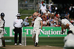 Kyle Mills. Test cricket: New Zealand v England. 15 March 2008, Basin Reserve, Wellington.
