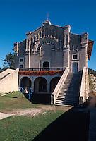Italien, Lombardei, Kapelle Eremo Madonna di Monte am Gardasee