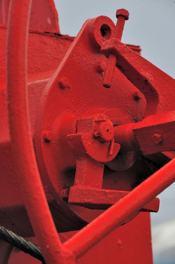 Gear II - Detail of deck gear on the MV Ushuaia.