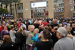 Seensters outside the Toyota Center for the Cher show  Monday March 24, 2014.(Dave Rossman photo)