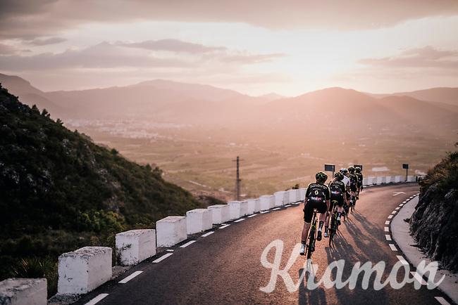 Mitchelton-Scott Women's team training camp in Oliva (Alicante) /Spain, may 2018<br /> ©kramon