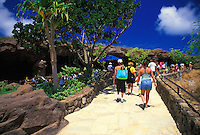 Hanauma Bay's new visitor center offers education and a panaoramic view of oahu's favorite snorkeling destination.
