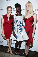 WEST HOLLYWOOD, CA, USA - APRIL 08: Kate Mara, Lupita Nyong'o, Elle Fanning at the Marie Claire Fresh Faces Party Celebrating May Cover Stars held at Soho House on April 8, 2014 in West Hollywood, California, United States. (Photo by Celebrity Monitor)