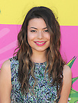 Miranda Cosgrove at The Nickelodeon's Kids' Choice Awards 2013 held at The Galen Center in Los Angeles, California on March 23,2013                                                                   Copyright 2013 Hollywood Press Agency
