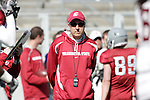 2012 Spring football practice at Washington State University under the watchful eyes of new Cougar head football coach, Mike Leach.