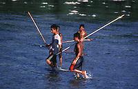 Local Palau Boys fishing