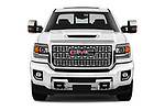 Car photography straight front view of a 2019 GMC Sierra 2500 Denali 4 Door Pick Up