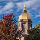 October 11, 2016; Main Building (Photo by Matt Cashore/University of Notre Dame)