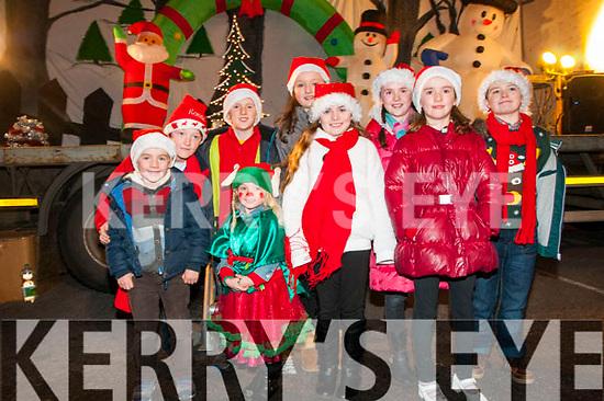 Ballybunion Christmas Lights Switch On: Pictired at the switching on of the Christmas lightin Ballybunion on Sunday last were Cal Fitzsimons, Mary Kate wall, Aisling Cook, Marian Fitzsimons, Ronan Hennessy, Con Fitzsimons, Ciara Hennessy, Nora Fitzsimons & Cornmac Cook.