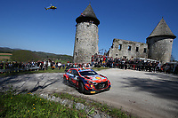 24th April 2021; Zagreb, Croatia; WRC Rally of Croatia, stages 9-16; O Breen