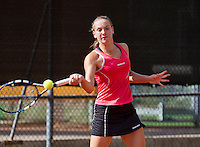 08-08-13, Netherlands, Rotterdam,  TV Victoria, Tennis, NJK 2013, National Junior Tennis Championships 2013, Isolde de Jong    <br /> <br /> <br /> Photo: Henk Koster