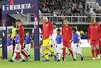 WASHINGTON, D.C. - OCTOBER 11: Brad Guzan #1 of the United States during their Nations League game versus Cuba at Audi Field, on October 11, 2019 in Washington D.C.